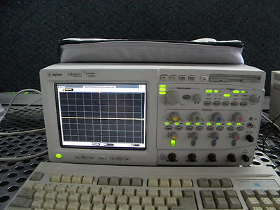 Agilent Hp 54846a 4 Channel 2.25ghz 8 Gsas Infiniium Digital Oscilloscope