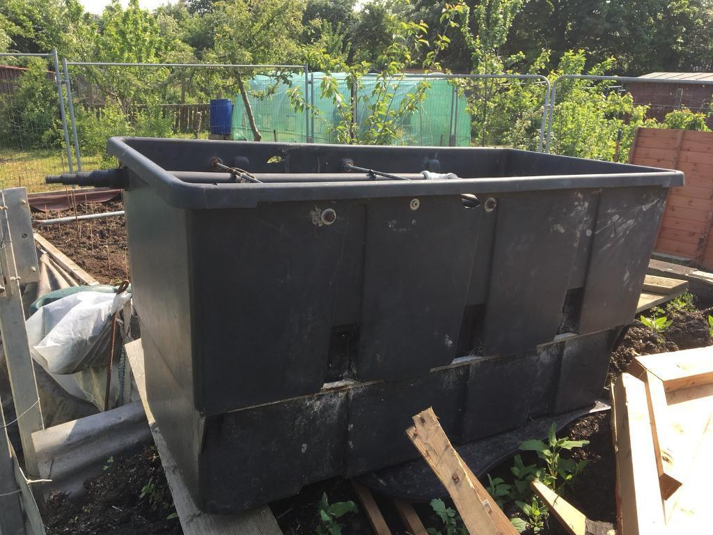 Very Large Fish Pond Filter Box Ideal For Larger Ponds