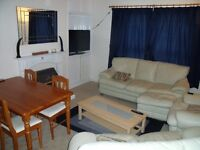 Spacious double room available in 3 x Double bedroom flat