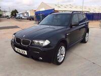 BMW X3 M SPORT 2.0 DIESEL SERVICE HISTORY NEW MOT