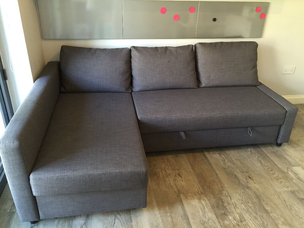 ikea friheten corner sofa sofa bed as new in glasgow city centre glasgow gumtree. Black Bedroom Furniture Sets. Home Design Ideas