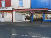 Ground floor retail shop premises for sale