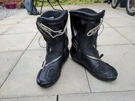 Alpinestars boots smx3 plus almost new very good condition size 11 swap for watch check other items