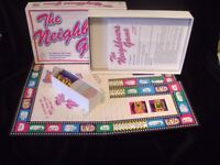 The Neighbours Game – Original 1988 Vintage Board Game
