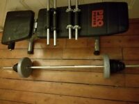 ProPower Weights Bench and Accesories