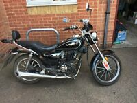 LEXMOTO RANGER 125 FOR SALE. 2 years old, very low mileage