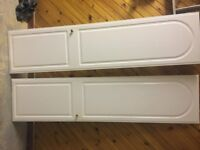 WARDROBE/CUPBOARD DOORS ( 2 AVAILABLE ) SIZE 50cm