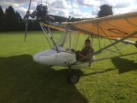 Microlight aircraft / thruster tst