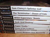 21 PLAYSTATION GAMES GOOD SELECTION