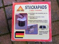 pyramid stack pads for caravan / trailer new