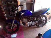Ybr 125 all parts for sale