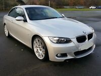 BMW 320i M Sport Convertible Immaculate Condition 22,000 miles Full Leather 12 Months M.O.T