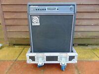 Ampeg B3 Bass Amplifier with Heavy Duty Flightcase