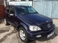 Mercedes-Benz M Class 2.7 ML270 CDI 5dr£3,395 . FREE WARRANTY. LONG MOT