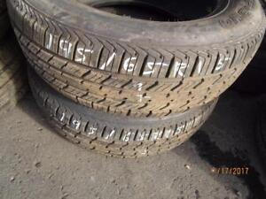 195/65R15 2 ONLY USED STARFIRE ALL SEASON TIRES