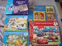 Selection of Children's Jigsaws for age 4+ - excellent condition no pieces missing