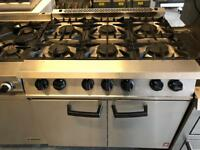 Commercial falcon cooker catering equipment 6 burner restaurant hotels pubs cafe equipment