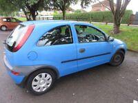 Vauxhall Corsa 1.2 comfort 2001 bright blue