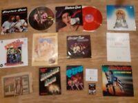15 x status quo vinyl collection / colour vinyls LP / 12 / tour prog