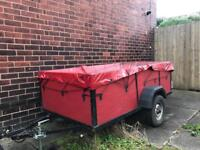 Trailer 7ft x 4ft in good condition. With extras.