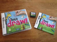 Nintendo DS Game - Let's Draw