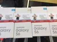 SAMSUNG GALAXY S6 BRAND NEW BOX &WARRANTY