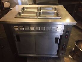 COMMERCIAL BAIN MARIE RESTAURANT KITCHEN UNDER HOT CUPBOARD SHOP CATERING CUISINE TAKEAWAY FASTFOOD