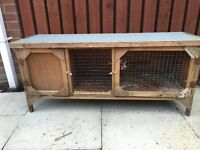 Rabbit / Guinea pig hutch £10