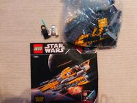 Lego starwars 7669 Anakin's Jedi Starfighter 100% complete
