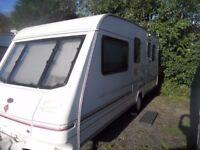 4/5 Berth Caravan 1998 with Full Awning