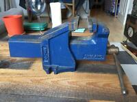 British Made Sheffield Steel Vice - Good Condition