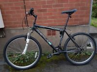 Reflex mountain bike, perfect for a tall person