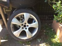 Set of 4 Alloys with Tyres 245/40 Rim20 99Y XL Accelera Phj