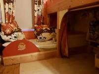 Handmade bunk beds