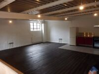 New live work unit, warehouse conv, 2bd, Forest HIll, pvte let NO FEES, all new polished floors