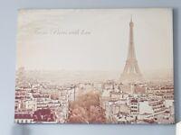 Lovely Shabby Chic Parisian Style Canvas