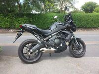 Kawasaki 650 versys 2014 only 1600 miles.