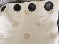 Laura Ashley made to measure eyelet curtains