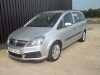 2007 Vauxhall Zafira 1.6 i 16v Life 5dr 7 Seats May Px