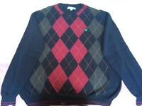 2 men's Lyle and Scott jumpers