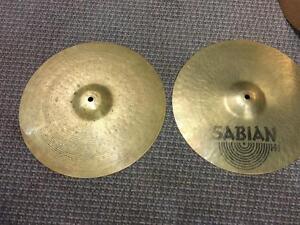 Sabian cymbales Hi-hat HH 14