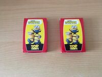 2 X Minions top trumps