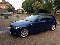 BMW 116i Blue MSport