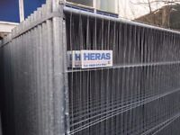 🌟Brand New Straight Top Heras Fencing Set