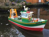 RC Fishing Boat 50cm with Handset
