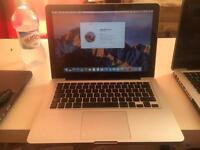 macbookpro 13 250Gb HDD 4Gb Ram