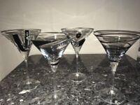 LSA 'Jazz' Cocktail Glasses set of 4