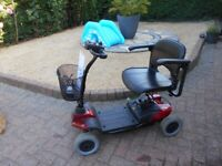 strider car boot mobility scooter