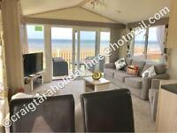 *BEACHFRONT*••brand new•• 2-5 june 3 bedroom platinum caravan for hire at craig tara