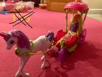 Barbie Horse & Carriage